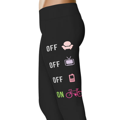 YouStatement Cycling Off Off Off On - Cycling Leggings
