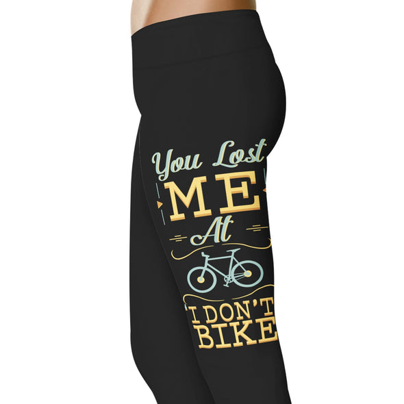 YouStatement Cycling You Lost Me At I Don't Bike - Cycling Leggings