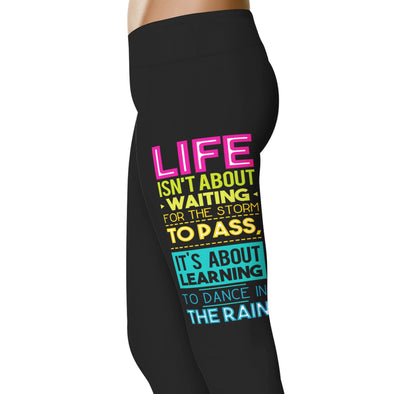 YouStatement Dancing Dance In The Rain - Dance Leggings