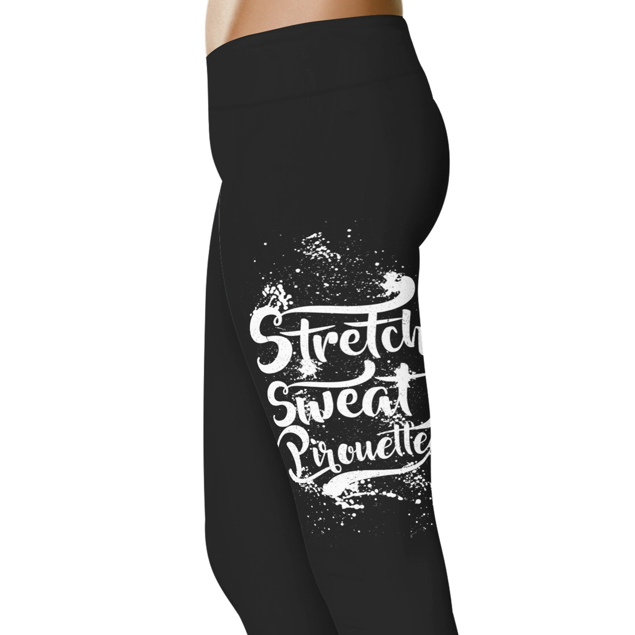 Stretch Sweat Pirouette - Dance Leggings – YouStatement