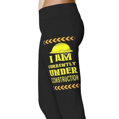 YouStatement Fitness and Wit Currently Under Construction - Fitness and Wit Leggings