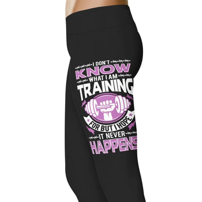 YouStatement Fitness and Wit I Don't Know What I'm Training For - Fitness and Wit Leggings