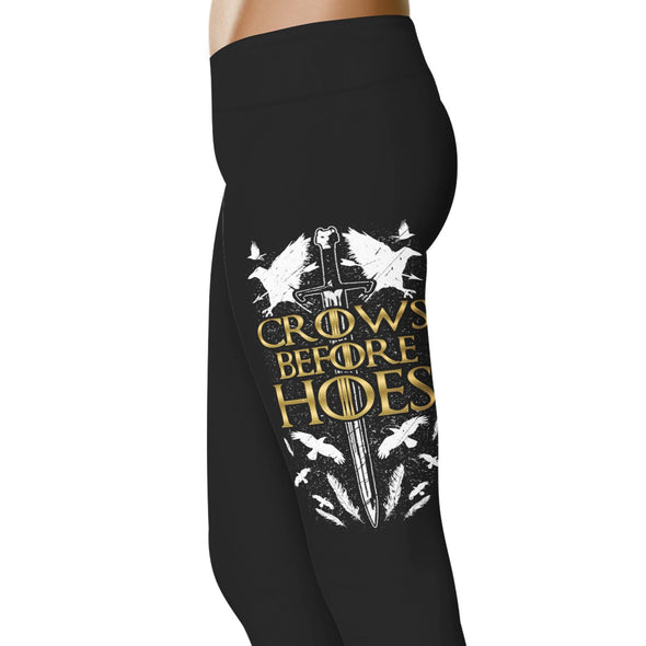 YouStatement Game Of Thrones Crows Before Hoes Leggings