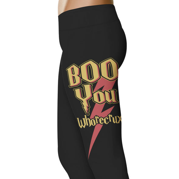 YouStatement HP Inspired Boo You Whorecrux Leggings