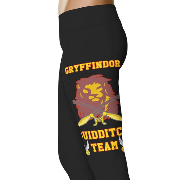 YouStatement HP Inspired Gryffindor Quidditch Team Leggings