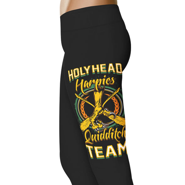 YouStatement HP Inspired Holyhead Harpies Quidditch Team Leggings