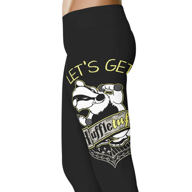 YouStatement HP Inspired Let's Get Huffletuff Leggings