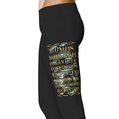 YouStatement HP Inspired Lumos Maxima Obliviate Leggings
