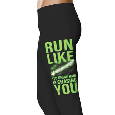 YouStatement HP Inspired Run Like You Know Who Leggings
