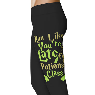 YouStatement HP Inspired Run Like You're Late For Potions Class Leggings