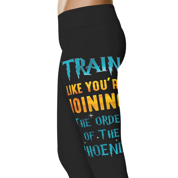 YouStatement HP Inspired Train Like You're Joining The Order Leggings