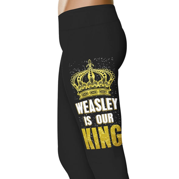 YouStatement HP Inspired Weasley Is Our King Leggings