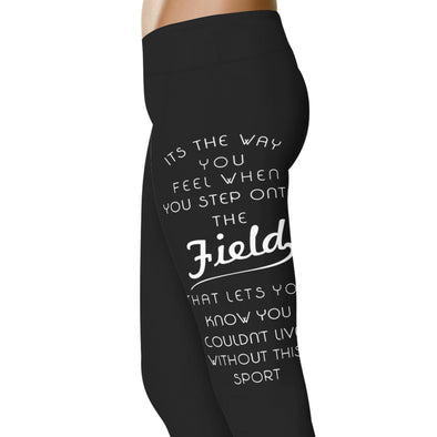 YouStatement Hockey It's The Way You Feel - Hockey Leggings