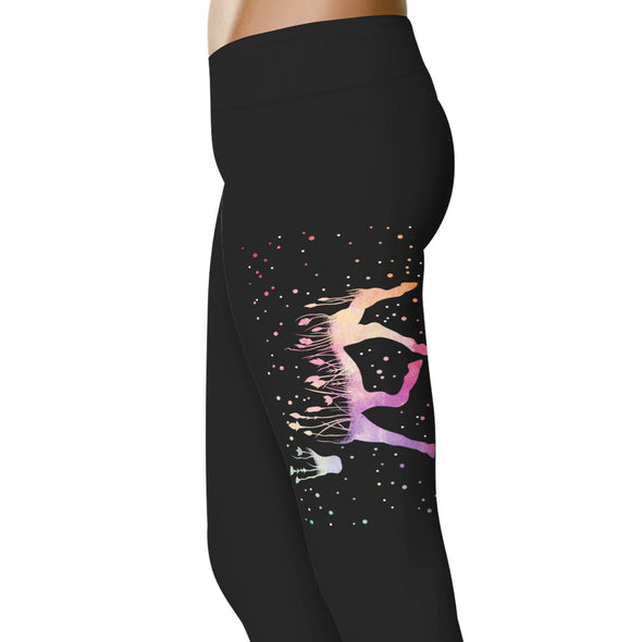 YouStatement Horses Horse Garden - Horse Leggings