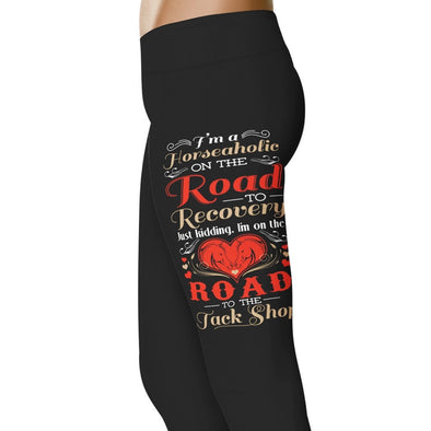 YouStatement Horses Horseaholic - Horse Leggings