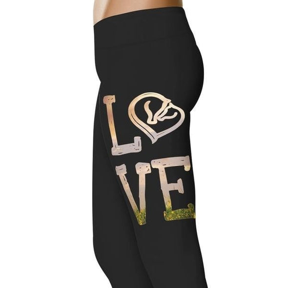 YouStatement Horses Love - Horse Leggings