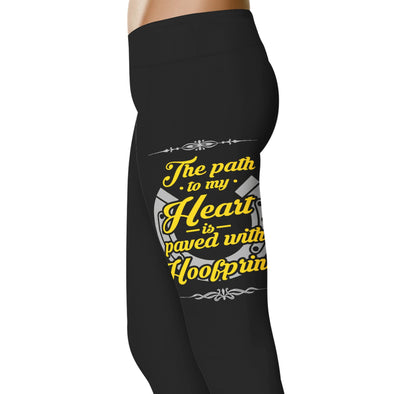 YouStatement Horses The Path to My Heart - Horse Leggings