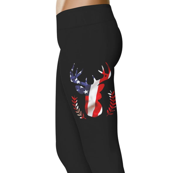YouStatement Hunting American Stag - Hunting Leggings