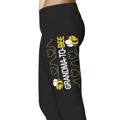 YouStatement Mother Grandma To Bee - Pregnancy Leggings