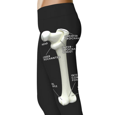 YouStatement Nurse Leg Bone - Nurse Leggings