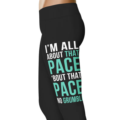 YouStatement Running All About The Pace - Running Leggings