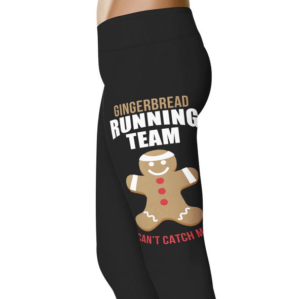 YouStatement Running Gingerbread Running Team - Running Leggings