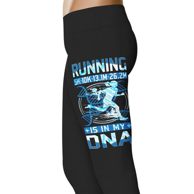 YouStatement Running Running Is In My DNA - Running Leggings
