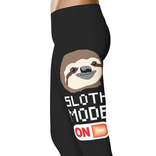 YouStatement Running Sloth Mode On - Running Leggings