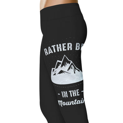 YouStatement Ski Rather Be In The Mountains - Ski Leggings