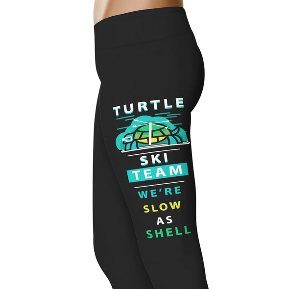 YouStatement Ski Turtle Ski Team - Ski Leggings