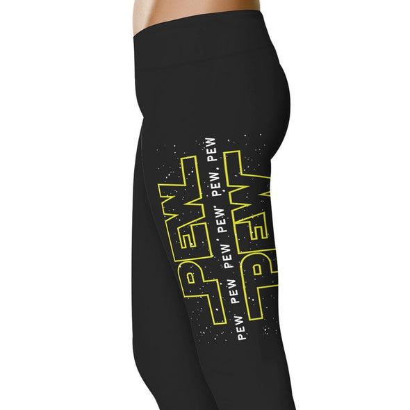 YouStatement SW inspired Inspired Pew Pew Pew Leggings