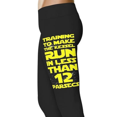 YouStatement SW inspired Inspired Training To Make The Kessel Run Leggings