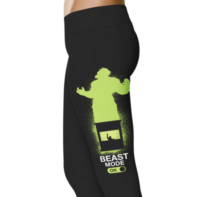 YouStatement Superhero inspired Beast Mode On Leggings