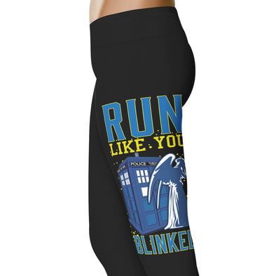 YouStatement The Doctor Run Like You Blinked Leggings