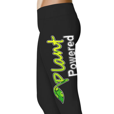 YouStatement Vegan Plant Powered - Vegan Leggings
