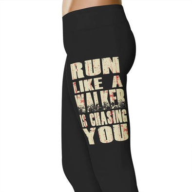 YouStatement TWD Run Like A Walker Leggings