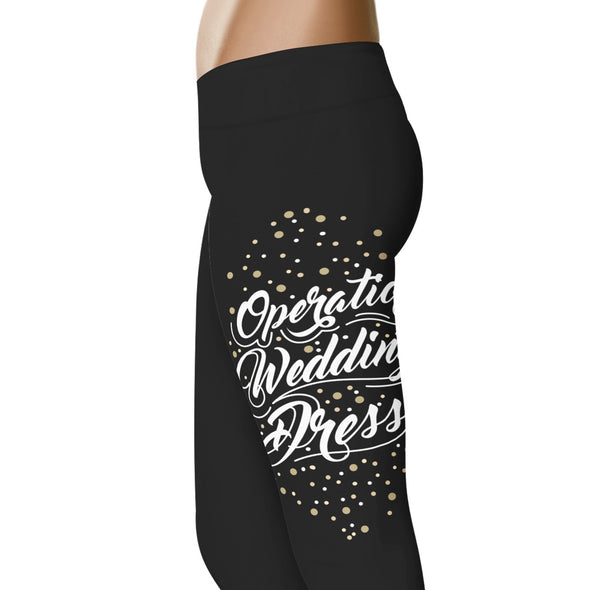 YouStatement Wedding Excitement Operation Wedding Dress - Wedding Excitement Leggings