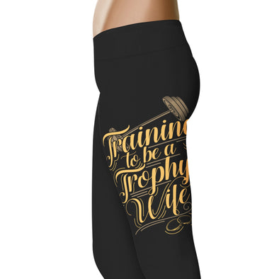 YouStatement Wedding Excitement Training To Be A Trophy Wife - Wedding Excitement Leggings