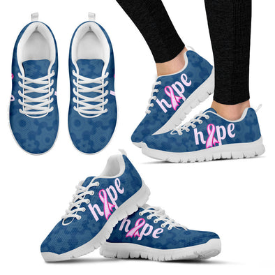 YouStatement Women's Sneakers - White - Womens Sneakers / US5 (EU35) Hope (Cancer) - Sneakers