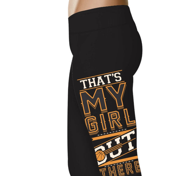 YouStatment Basketball That's My Girl Out There - Basketball Leggings