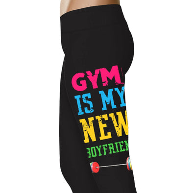 YouStatment Fitness and Wit Gym Is My New Boyfriend - Fitness and Wit Leggings