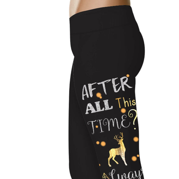 YouStatment HP Inspired After All This Time? Always Leggings