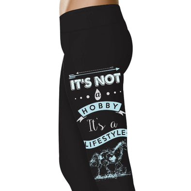 YouStatment Horses It's Not A Hobby It's A Lifestyle - Horse Leggings