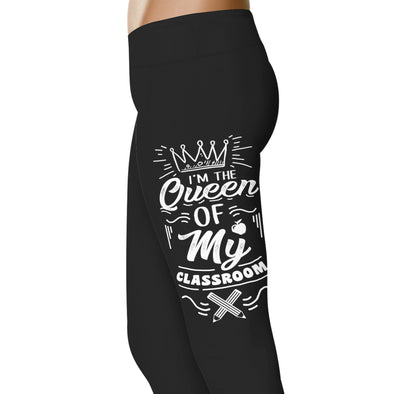 YouStatment Teacher Queen Of My Classroom - Teacher Leggings