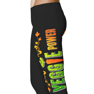 YouStatment Vegan Veggie Power - Vegan Leggings