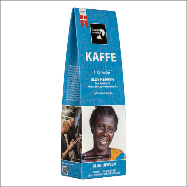 BLUE HEAVEN, 1.coffeecru fra FarmMoiuntain 225 g.