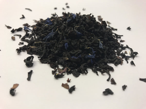 Sort te Earl Grey Blue Økologisk 100 g. Tea2you