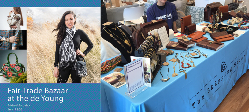 2019 Fair Trade Bazaar at deYoung Museum San Francisco
