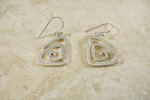 Signature Sterling Silver Make a Ripple Earrings