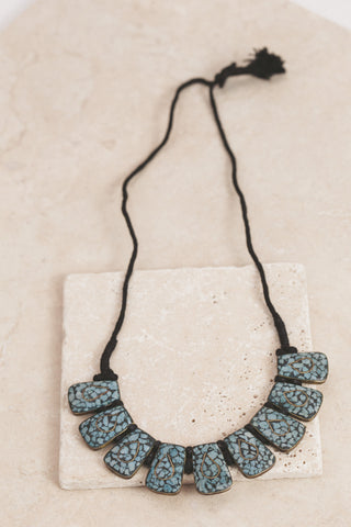 Himalayan Vision in Turquoise Jade Necklace